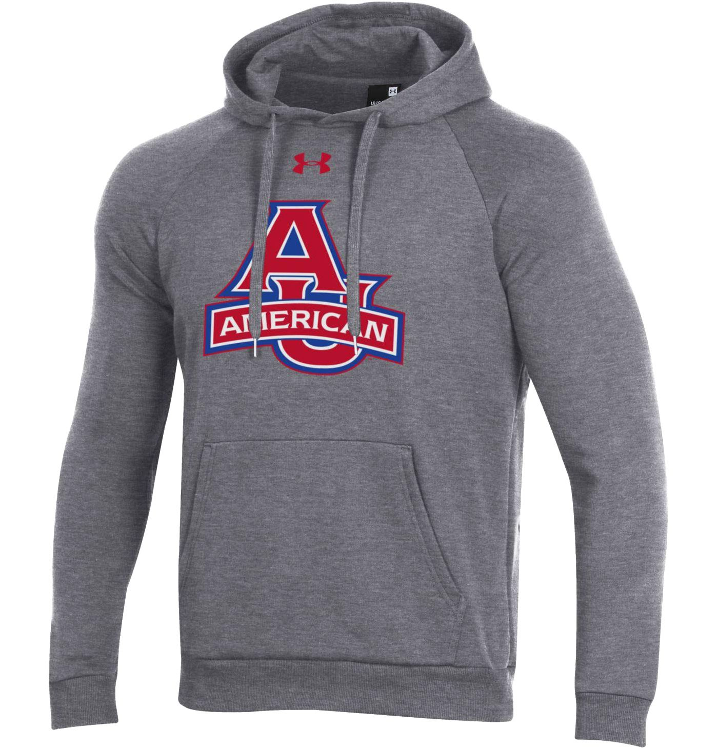 Under Armour Men's American University Eagles Grey All Day Hoodie