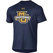 Under Armour Men's Marquette Golden Eagles Blue Tech Performance T-Shirt
