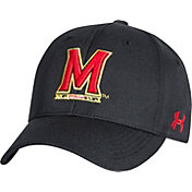 Under Armour Men's Maryland Terrapins Adjustable Black Hat