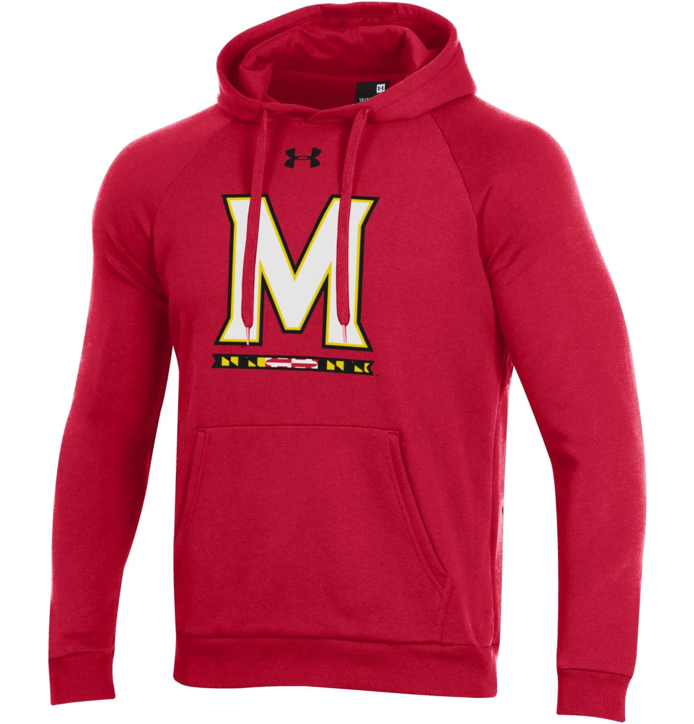 Under Armour Men's Maryland Terrapins Red All Day Hoodie