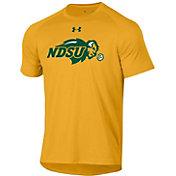 Under Armour Men's North Dakota State Bison Yellow Tech Performance T-Shirt