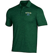 Under Armour Men's Notre Dame Fighting Irish Green Playoff Polo