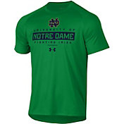 Under Armour Men's Notre Dame Fighting Irish Green Tech Performance T-Shirt
