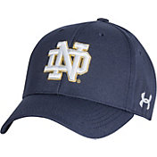 Under Armour Men's Notre Dame Fighting Irish Navy Adjustable Hat