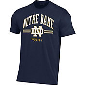Under Armour Men's Notre Dame Fighting Irish Navy 'CFB150' Performance Cotton Football T-Shirt