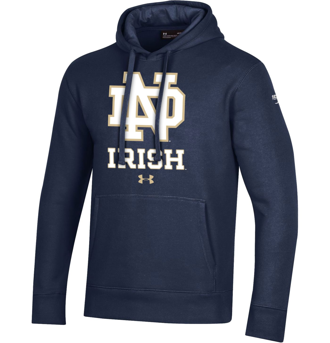 Under Armour Men's Notre Dame Fighting Irish Navy Original Pullover Hoodie