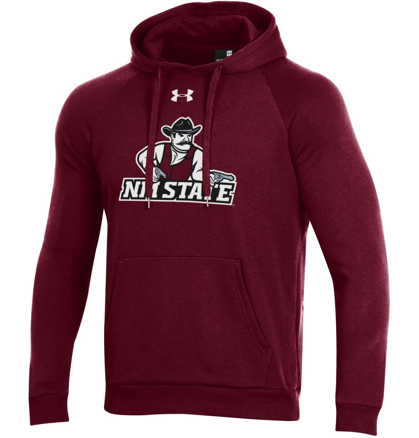 Under Armour Men's New Mexico State Aggies Crimson All Day Hoodie