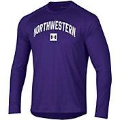 Under Armour Men's Northwestern Wildcats Purple Long Sleeve Tech Performance T-Shirt