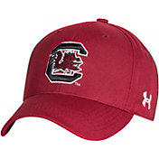 Under Armour Men's South Carolina Gamecocks Garnet Adjustable Hat