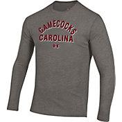 Under Armour Men's South Carolina Gamecocks Grey Tri-Blend Performance Long Sleeve T-Shirt