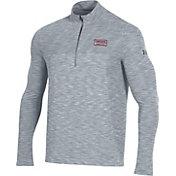 Under Armour Men's South Carolina Gamecocks Grey Vanish Quarter-Zip Shirt