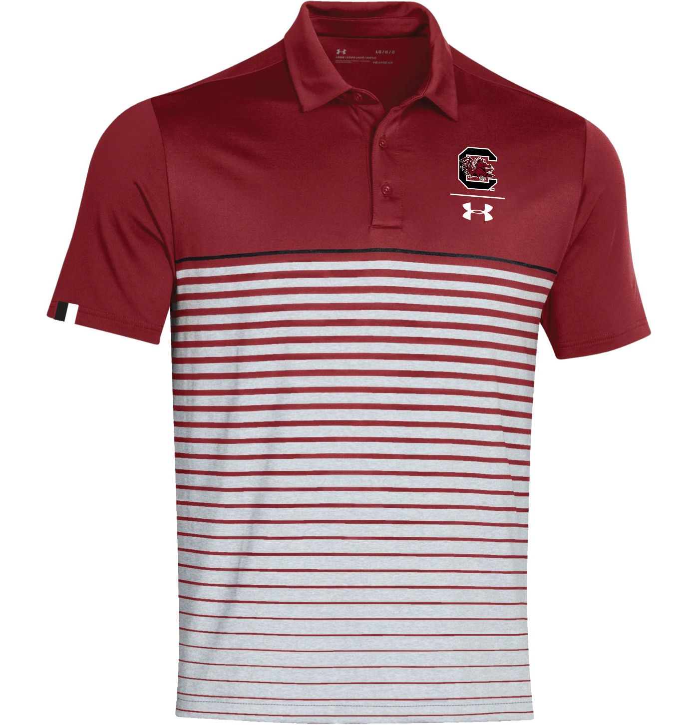 Under Armour Men's South Carolina Gamecocks Garnet Pinnacle Performance Sideline Polo