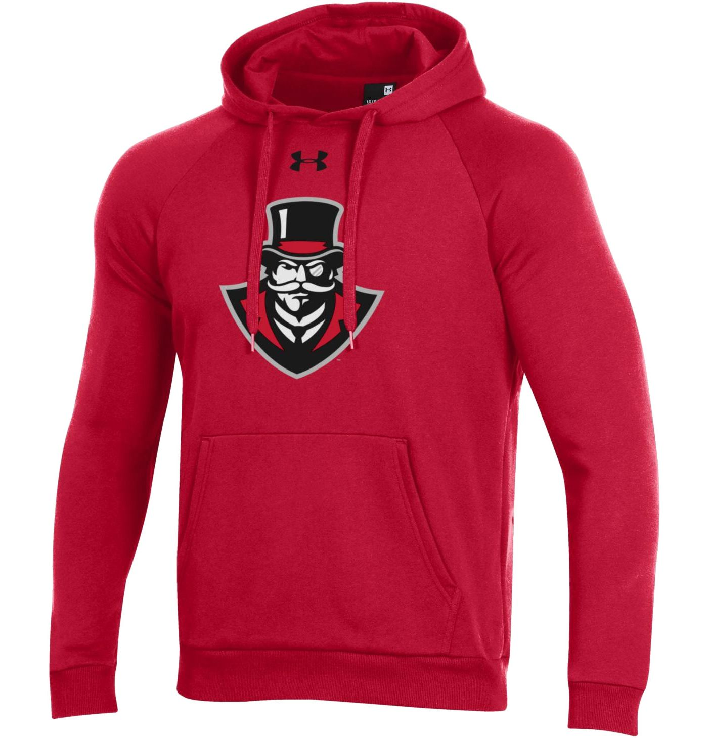 Under Armour Men's Austin Peay Governors Red All Day Hoodie