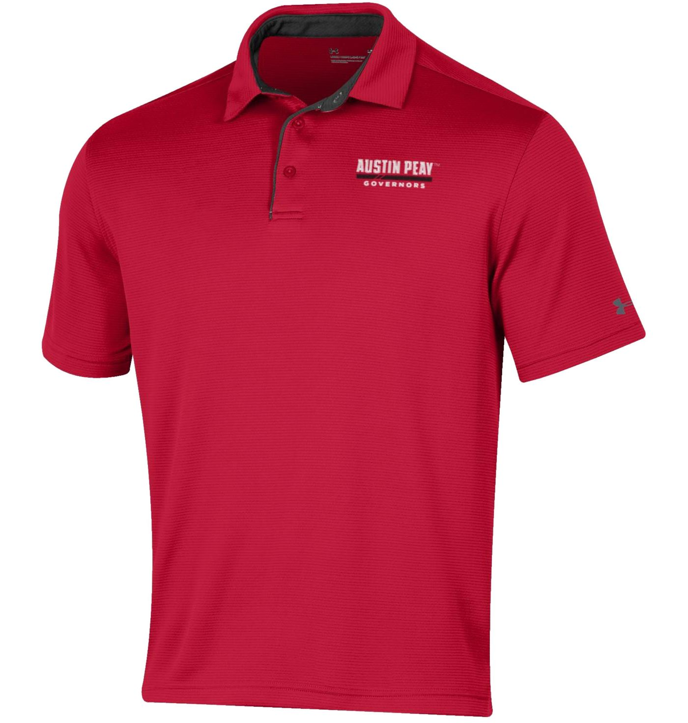 Under Armour Men's Austin Peay Governors Red Tech Polo