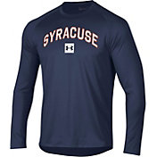 Under Armour Men's Syracuse Orange Blue Long Sleeve Tech Performance T-Shirt