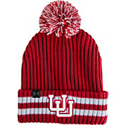 Under Armour Men's Utah Utes Crimson Fundamental Pom Knit Beanie