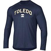 Under Armour Men's Toledo Rockets Midnight Blue Long Sleeve Tech Performance T-Shirt