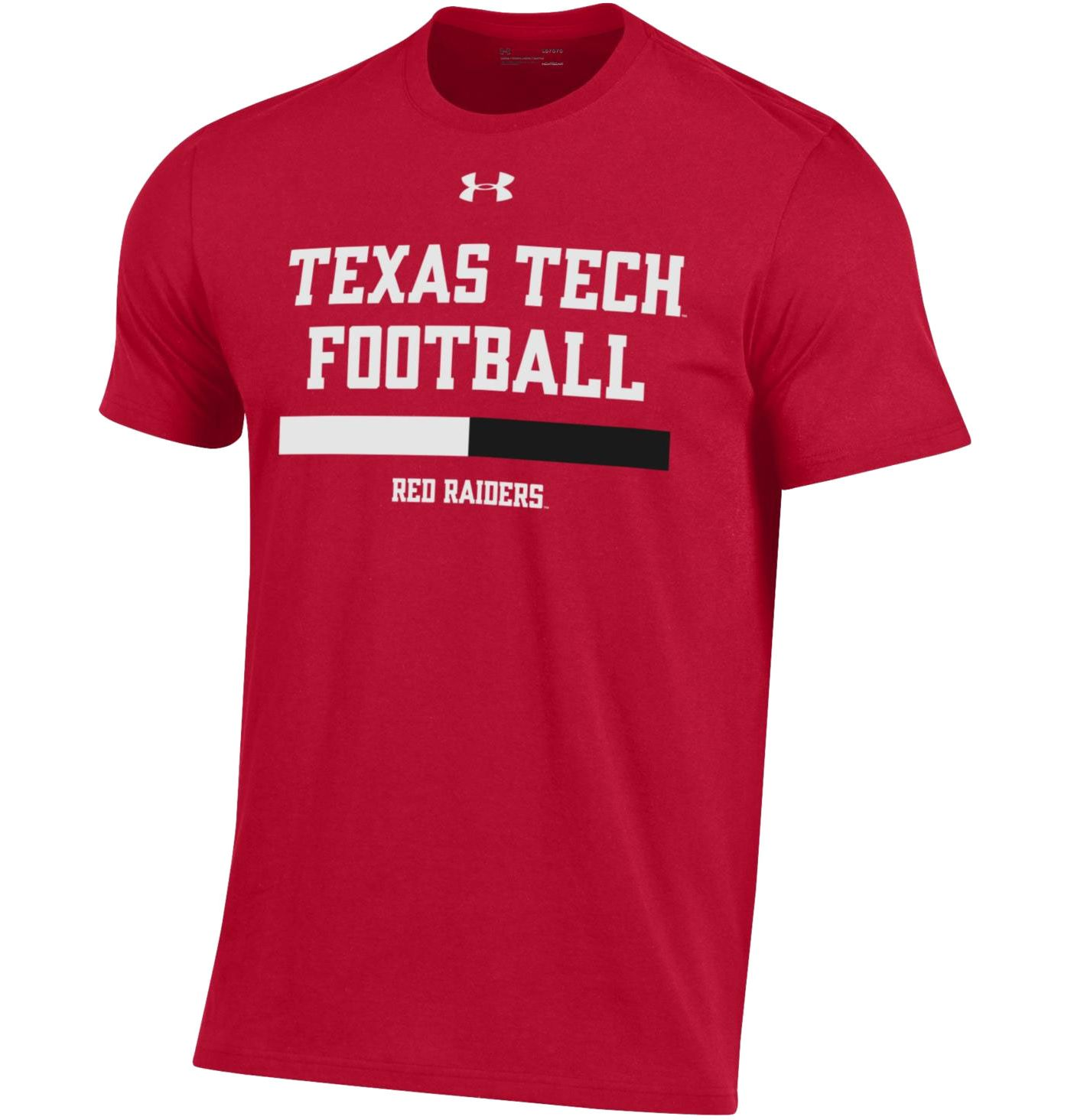 Under Armour Men's Texas Tech Red Raiders Red Performance Cotton Sideline Football T-Shirt