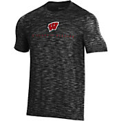 Under Armour Men's Wisconsin Badgers Vanish Performance Black T-Shirt