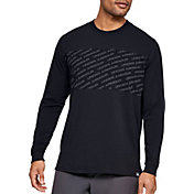 Under Armour Men's Unstoppable Wordmark Graphic Long Sleeve Shirt