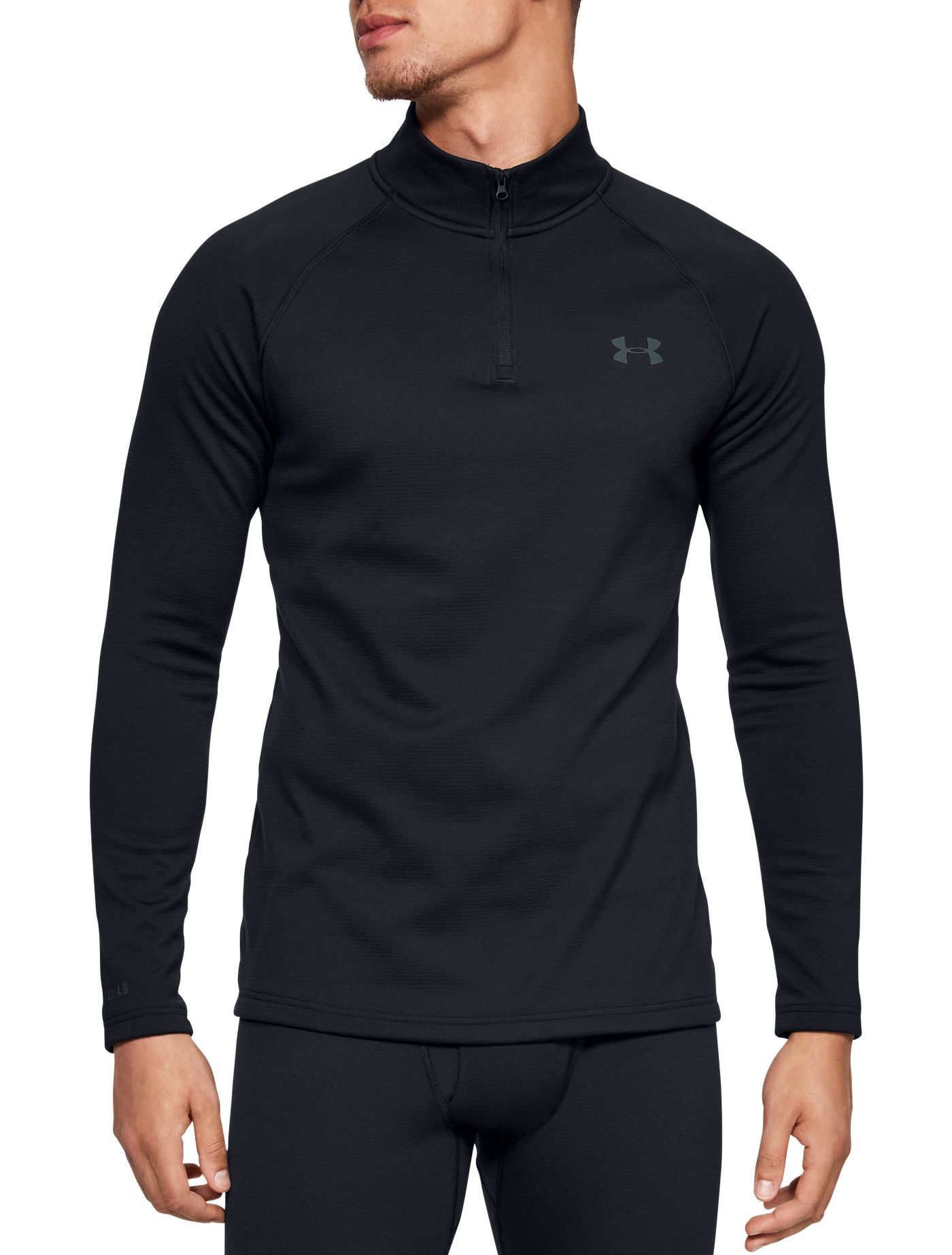 Under Armour Men's Packaged Base 4.0 1/4 Zip Baselayer (Regular and Big & Tall)