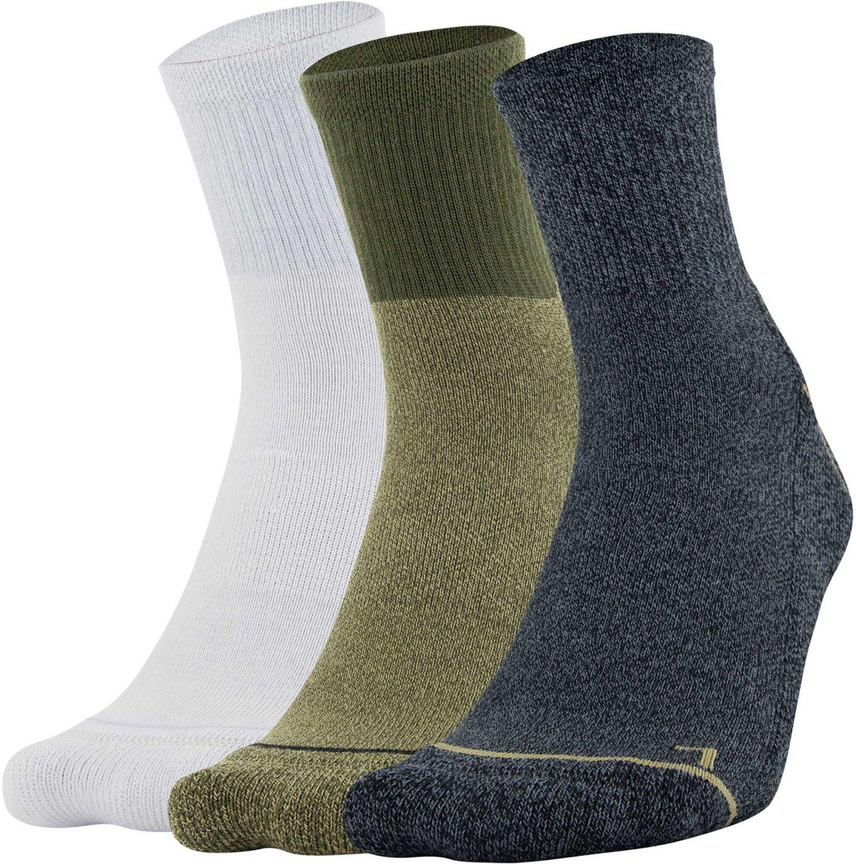 Under Armour Men's Phenom 2.0 Quarter Socks - 3 Pack