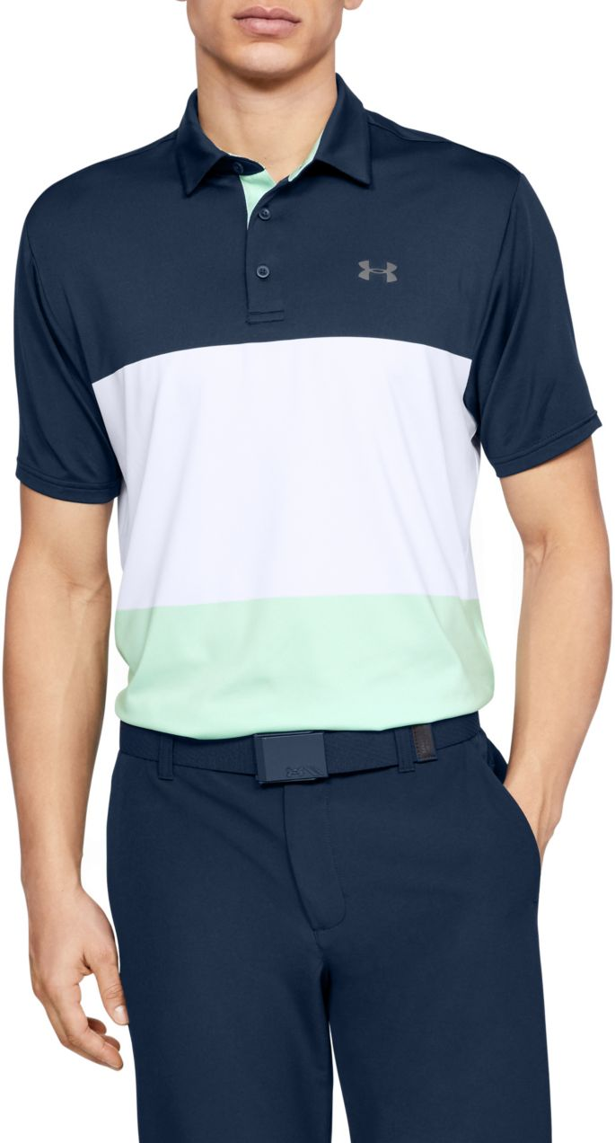 Under Armour Men's Playoff 2 0 Heritage Golf Polo