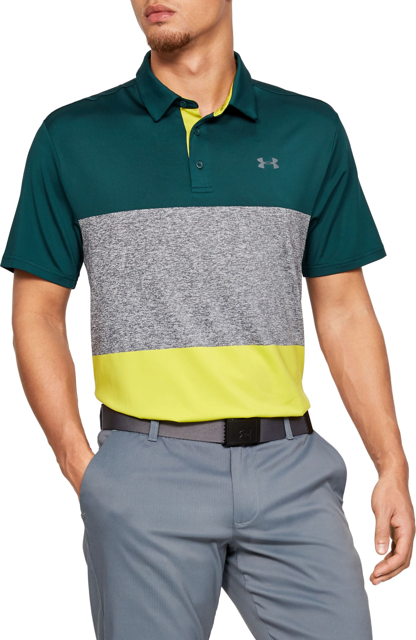 Under Armour Men's Playoff 2.0 Heritage Golf Polo