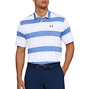 Under Armour Men's Playoff 2.0 Rugby Stripe Golf Polo