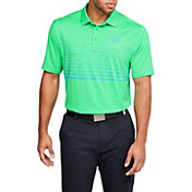 Under Armor Men's Playoff 2.0 Faded Stripe Golf Polo