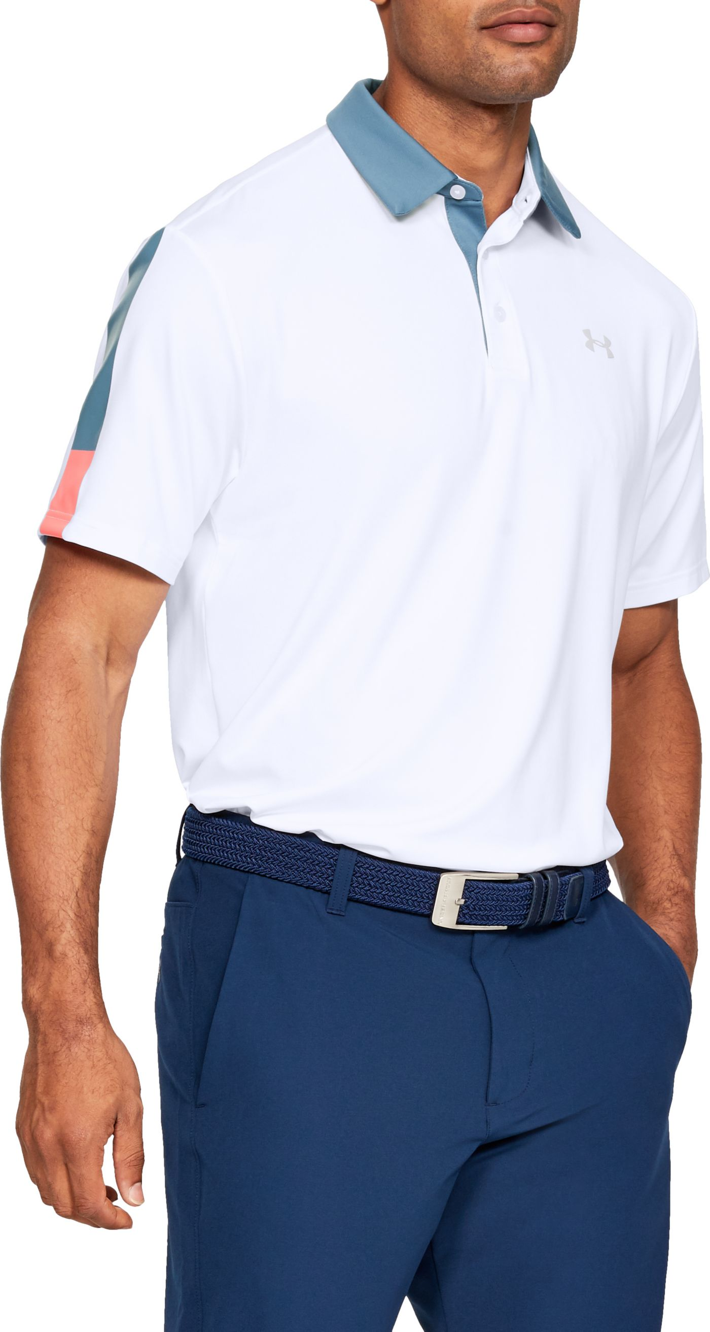 Under Armour Men's Playoff 2.0 Wedge Graphic Golf Polo