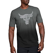 Under Armour Men's Project Rock Brahma Bull Graphic T-Shirt in Pitch Gray