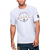 Under Armour Men's Project Rock Home Of The Brave Graphic T-Shirt (Regular and Big & Tall)