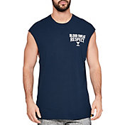 Under Armour Men's Project Rock Blood Sweat Respect Graphic Cut-Off Tank Top