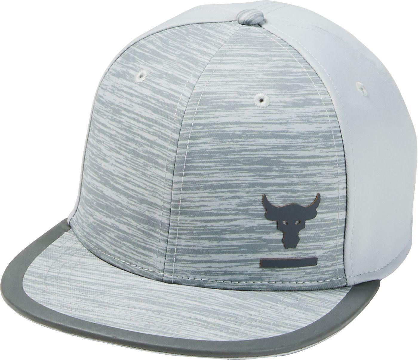 Under Armour Men's Project Rock Flat Brim Snapback Hat