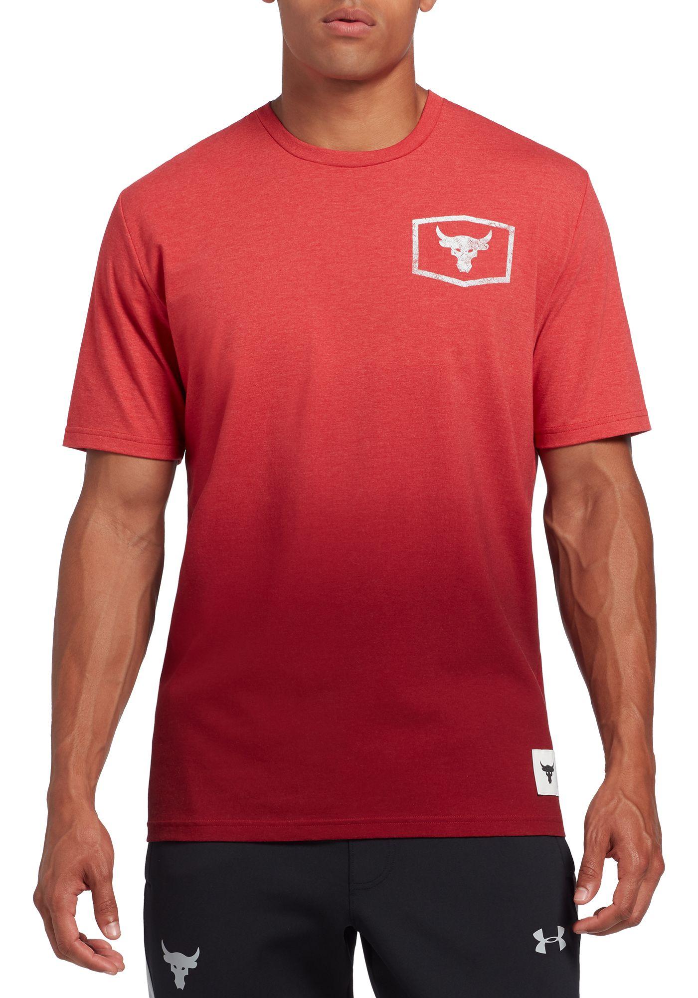 Under Armour Men's Project Rock Iron Paradise Graphic T-Shirt