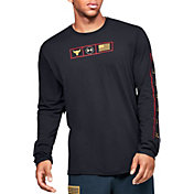 Under Armour Men's Project Rock Respect Graphic Long Sleeve Shirt (Regular and Big & Tall)