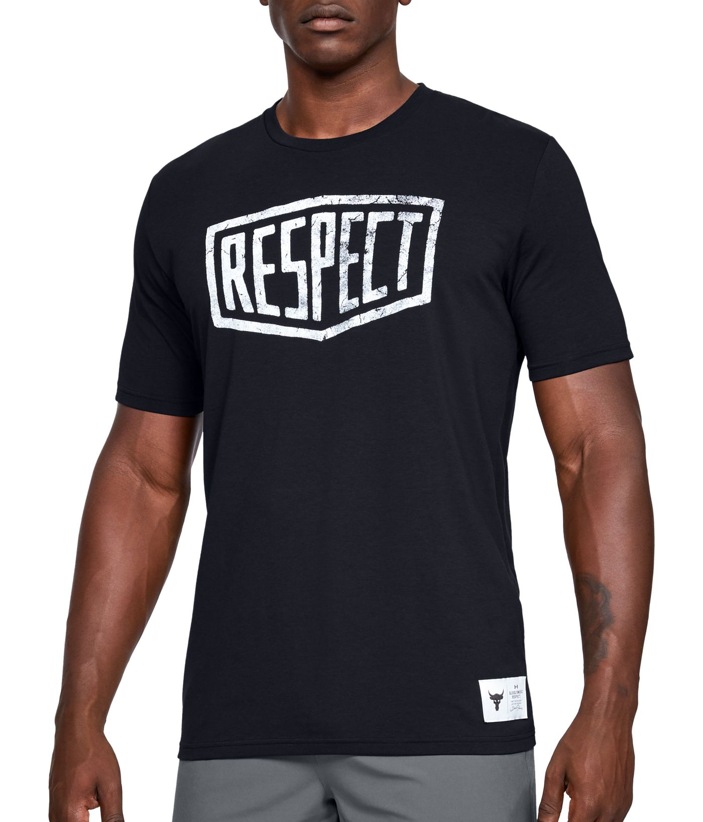 Under Armour Men's Project Rock Respect Graphic T-Shirt