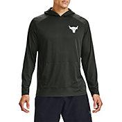 Under Armour Men's Project Rock Tech Hooded Long Sleeve Shirt 2.0 (Regular and Big & Tall)