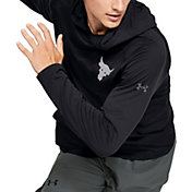 Under Armour Men's Project Rock Tech Hooded Long Sleeve Shirt 2.0 (Regular and Big & Tall)