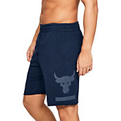 Under Armour Men's Project Rock French Terry Fleece Shorts