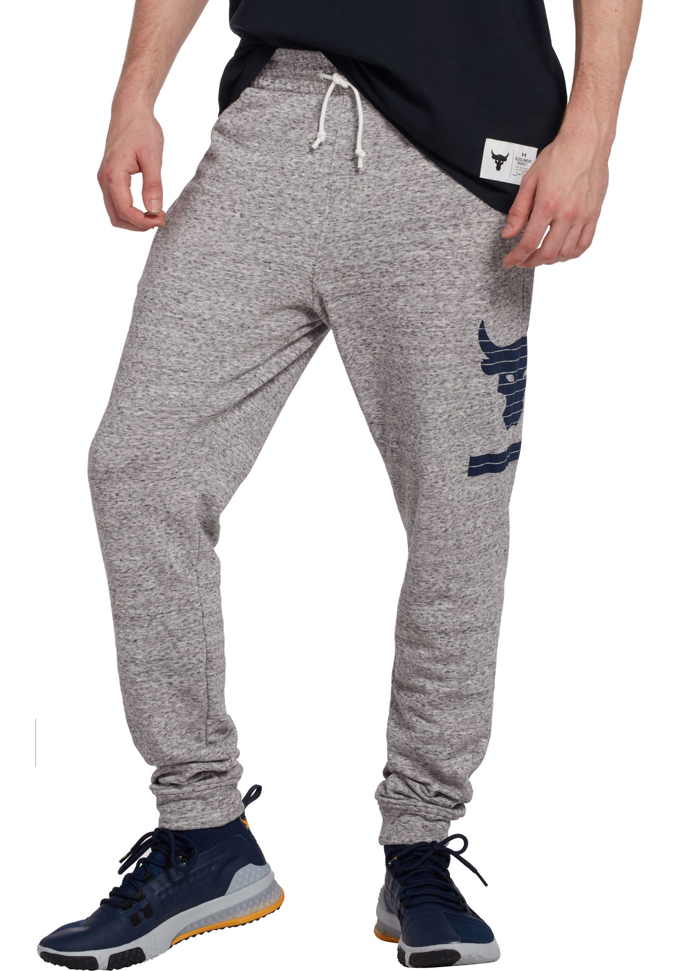 Under Armour Men's Project Rock French Terry Jogger Pants