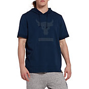 Under Armour Men's Project Rock French Terry Short Sleeve Hoodie