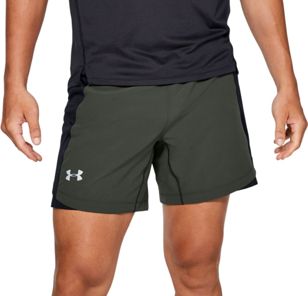 hot-selling real amazing selection forefront of the times Under Armour Men's Qualifier Speedpocket 7'' Running Shorts