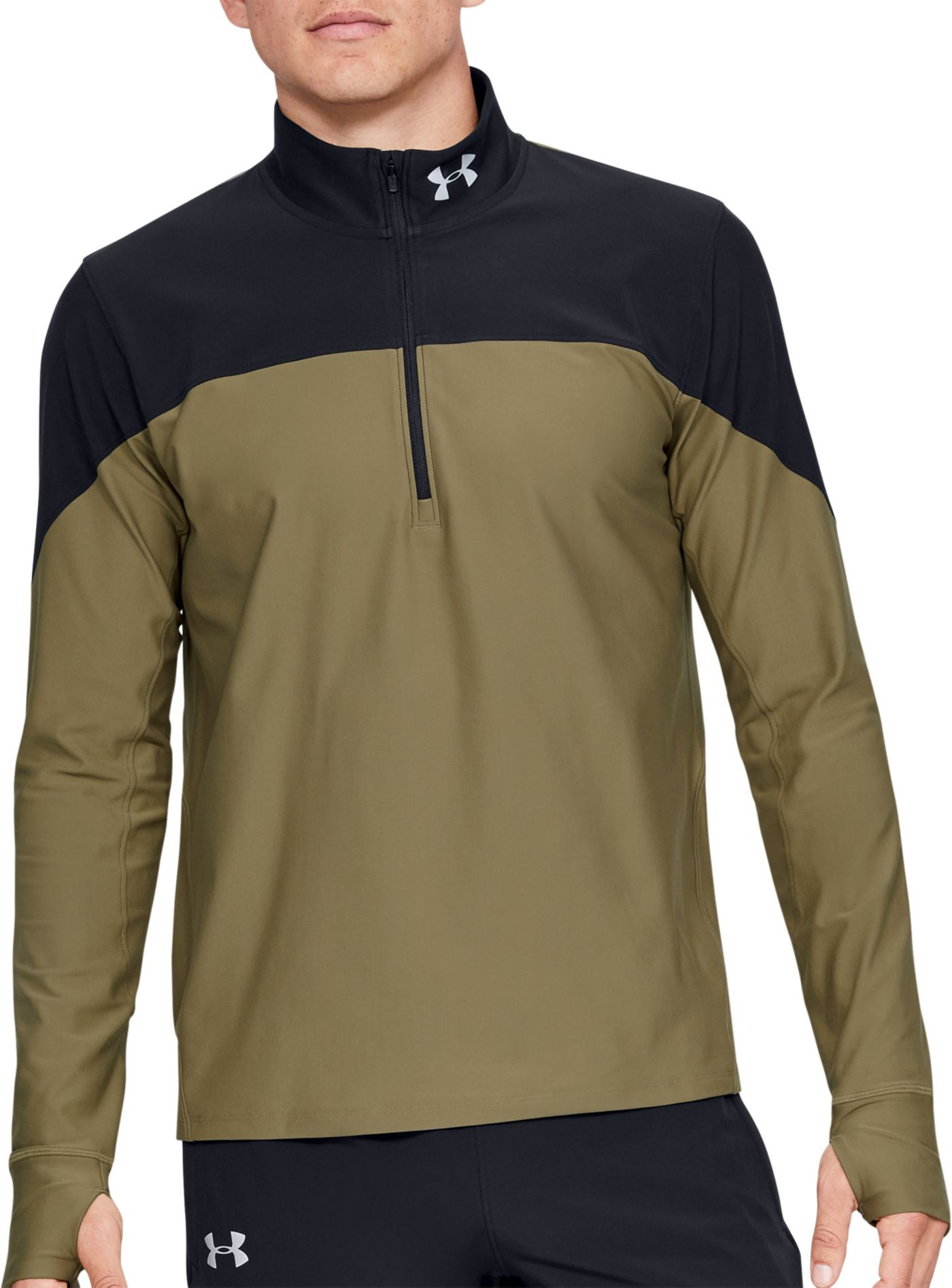 Under Armour Men's Qualifier ½ Zip Running Long Sleeve Shirt