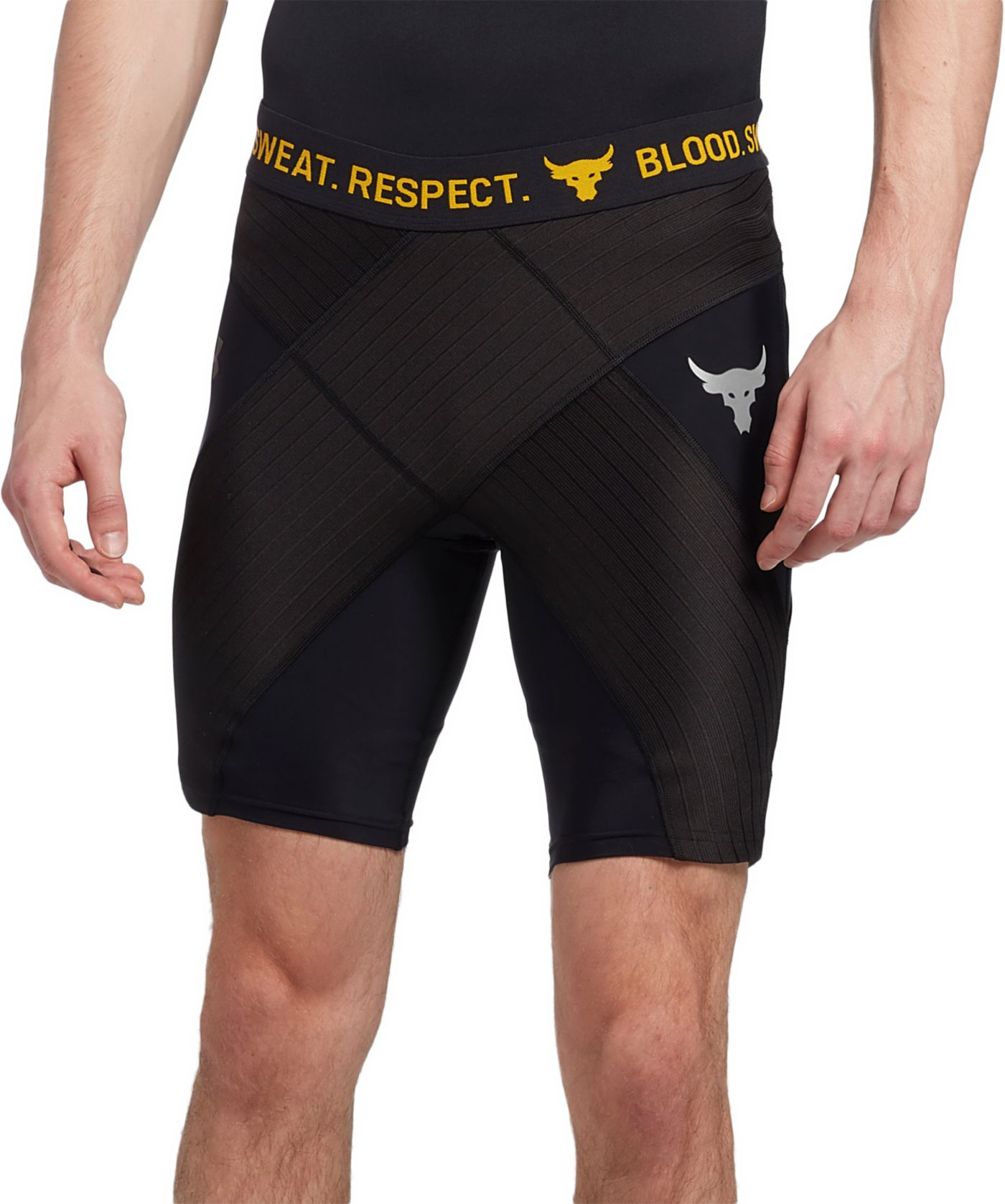 Under Armour Men's Project Rock Compression Shorts