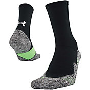 Under Armour Men's Run Cushion Reflective 3.0 Crew Socks