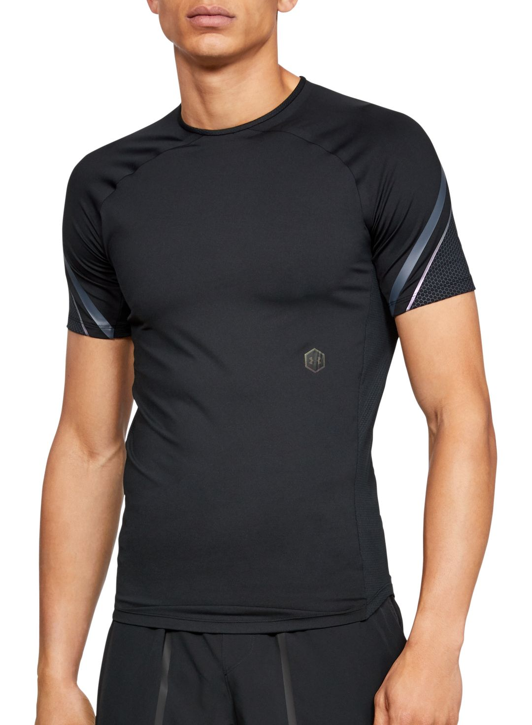 6abcb3c8f7 Under Armour Men's RUSH Compression Graphic Short Sleeve Shirt