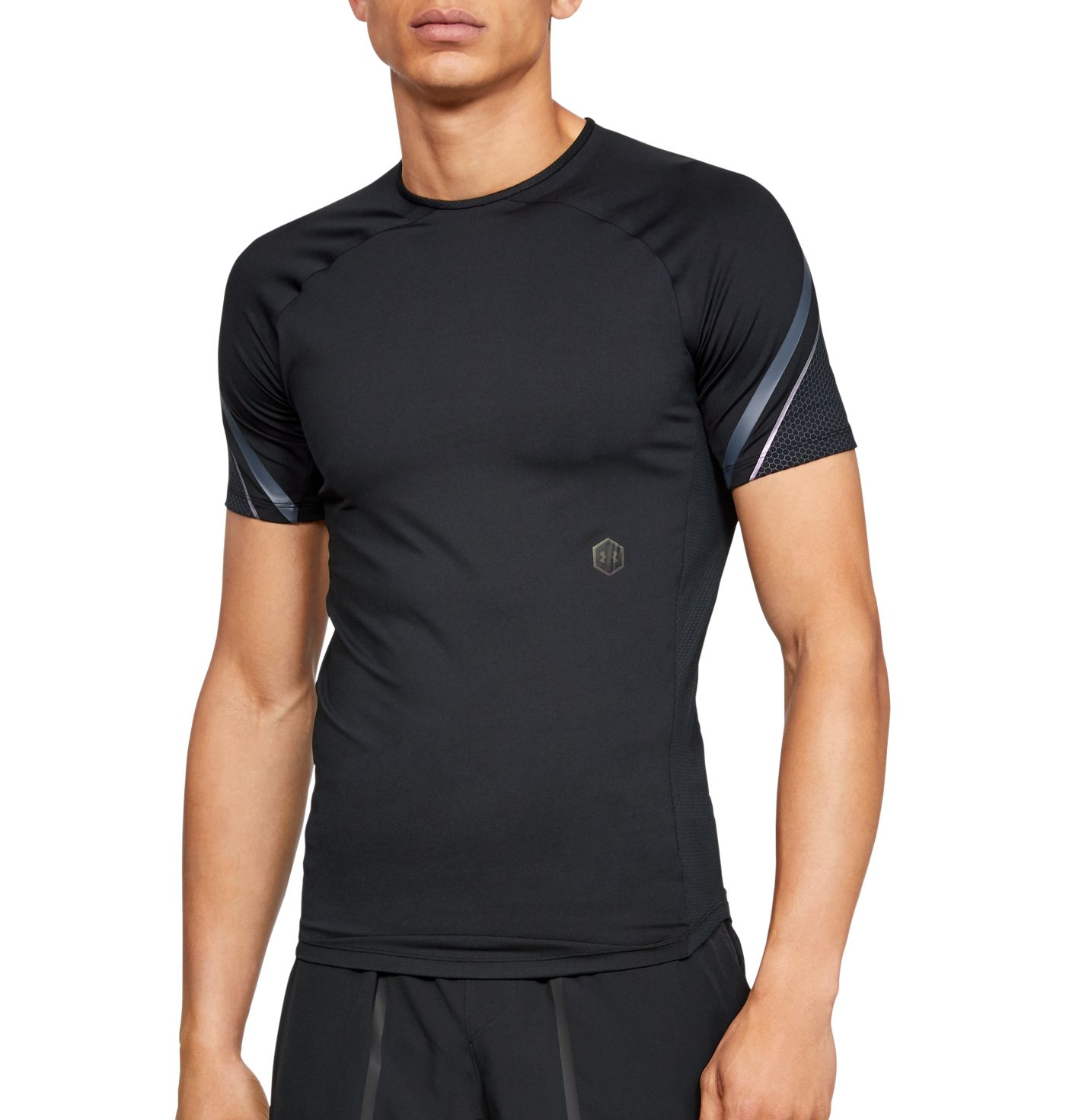 Under Armour Men's RUSH Compression Graphic Short Sleeve Shirt
