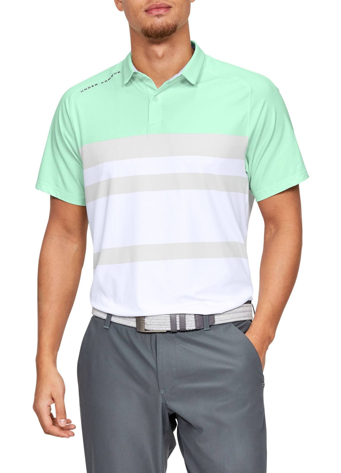 Under Armour Men's Iso-Chill Block Golf Polo